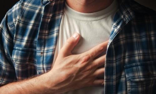 Возникновение боли в груди при отказе от курения